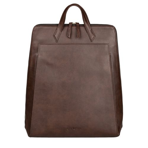 Urban Backpack Brown - Vegan Laptop Backpack
