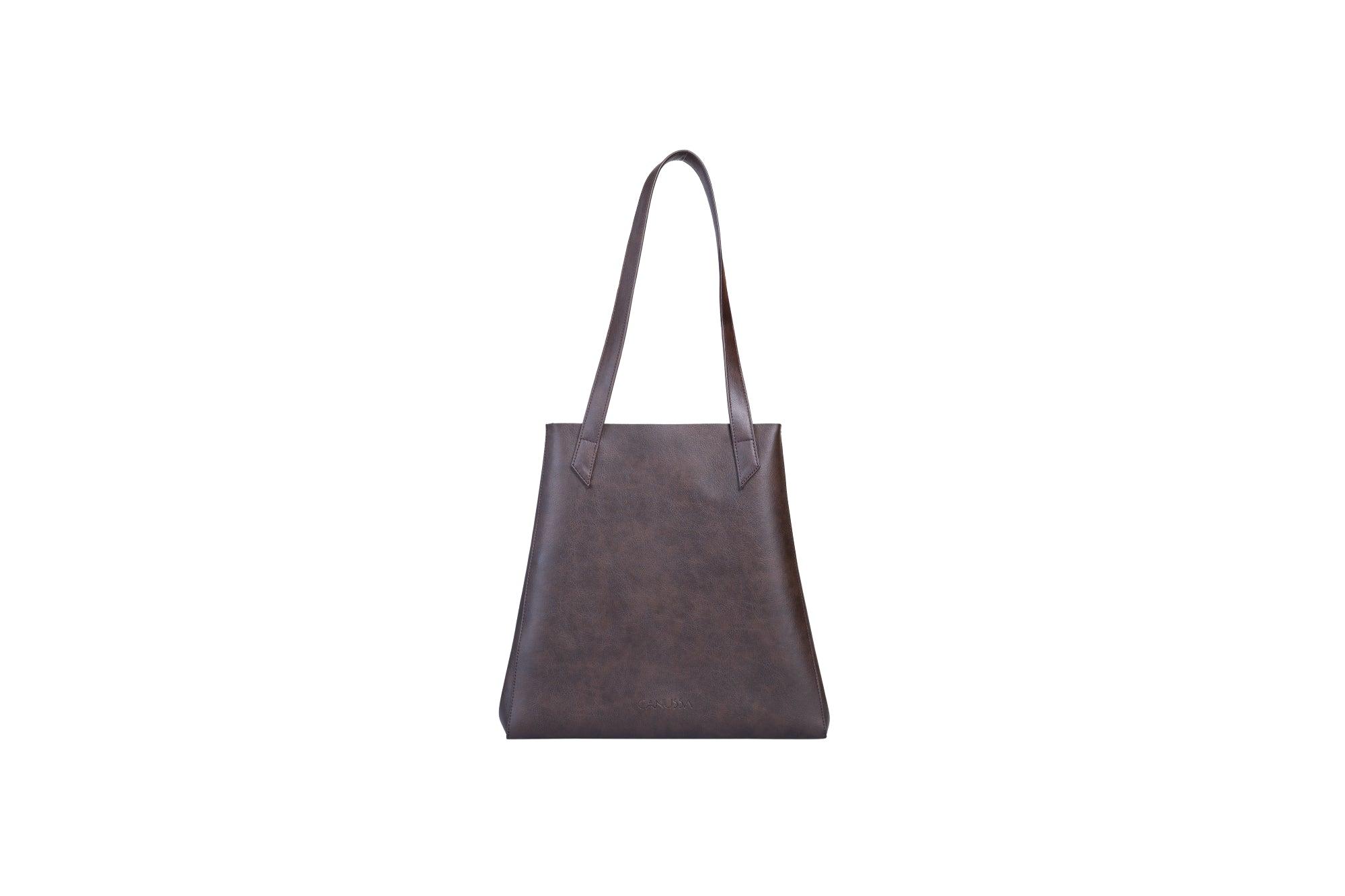 Canussa TOTISSIMO Brown - Shoulder Vegan Bag