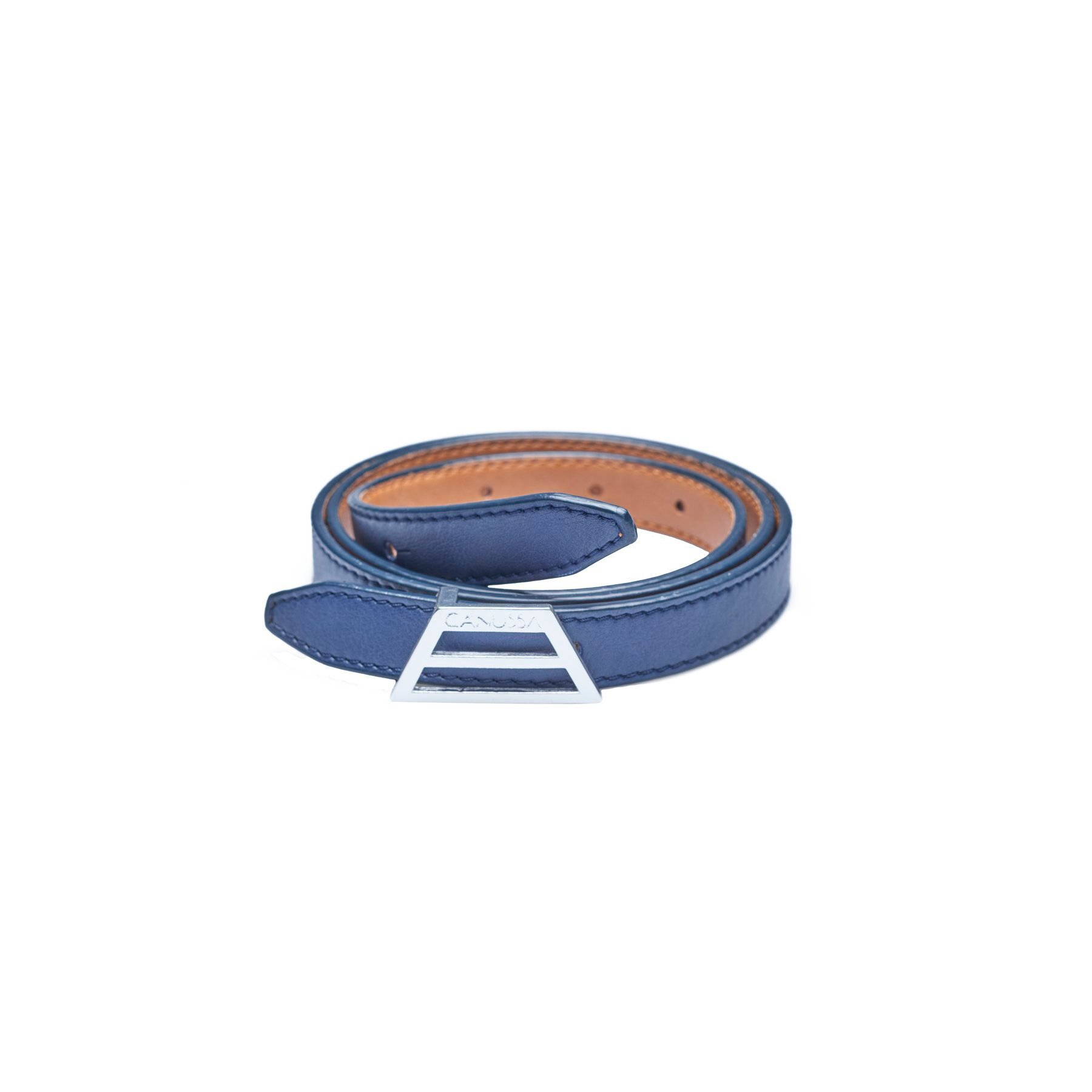 ADAPT Vegan Belt – Reversible Camel/Blue