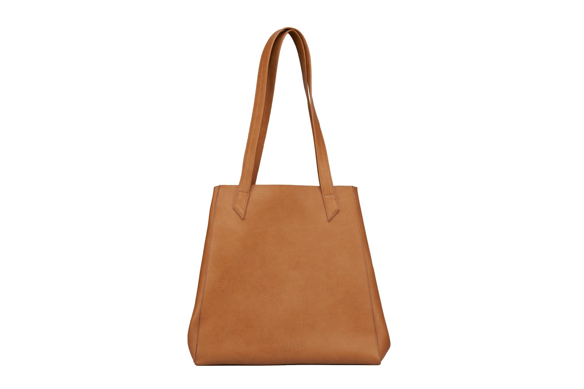 TOTISSIMO Camel - Shoulder Vegan Bag