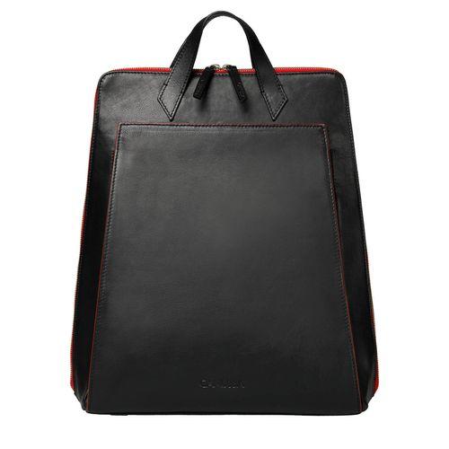 Urban Backpack Black/Red - Vegan Laptop Backpack
