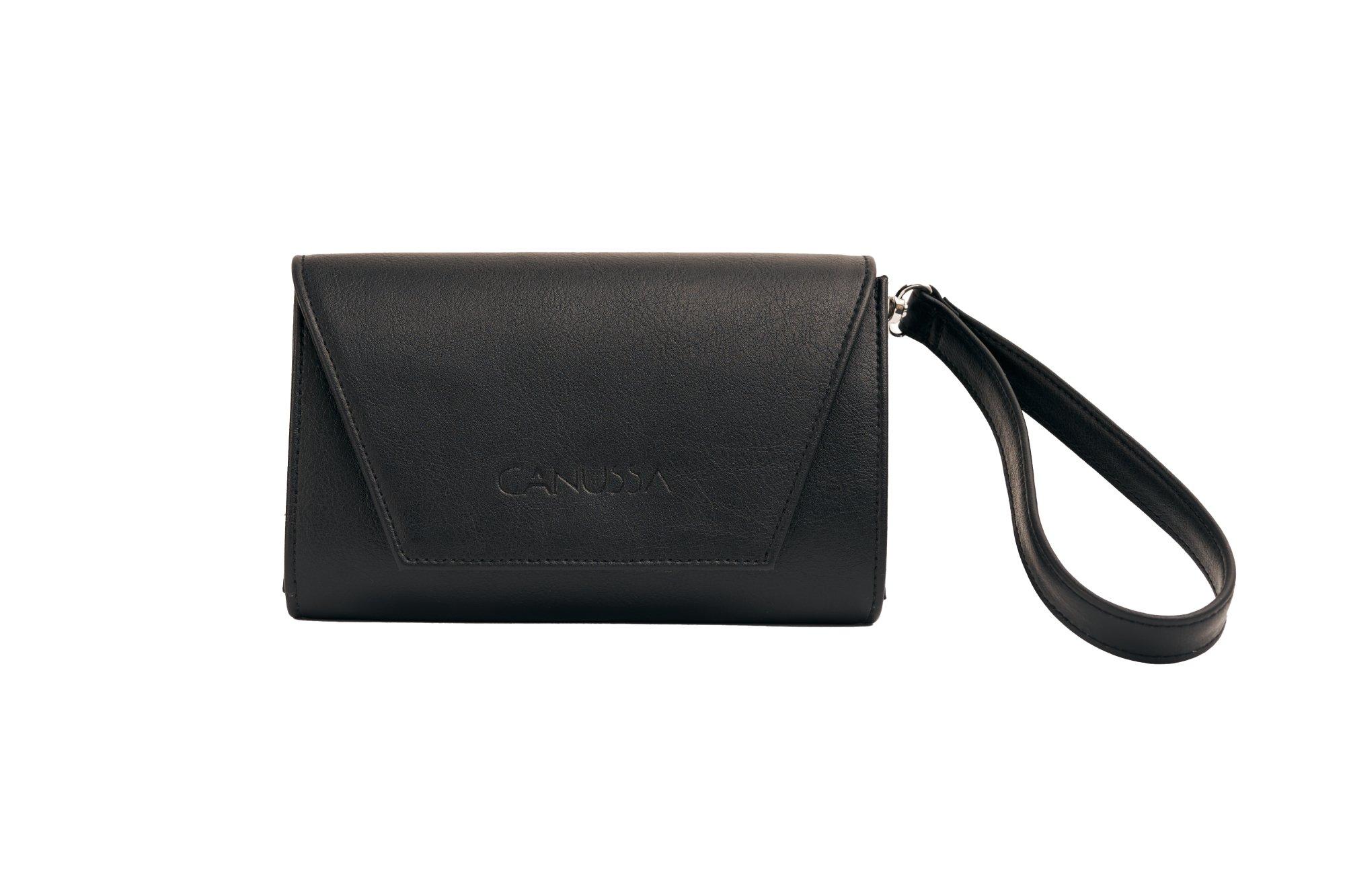 Hybrid Mini Black - Vegan Purse, Clutch and Bum bag