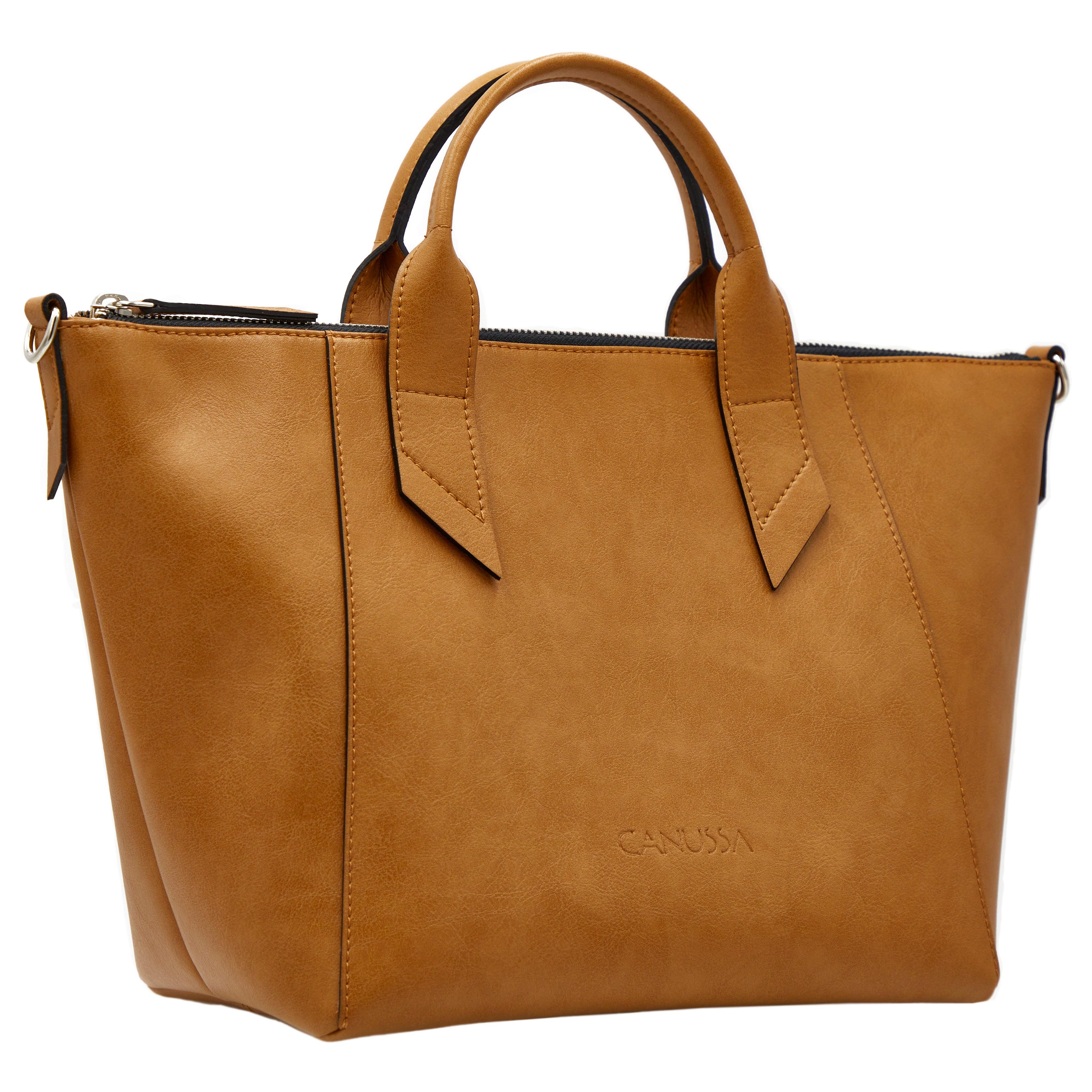 Trotto Camel - Crossbody Vegan Bag