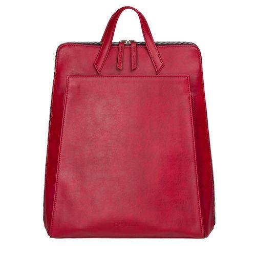 Urban Backpack Red - Vegan Laptop Backpack