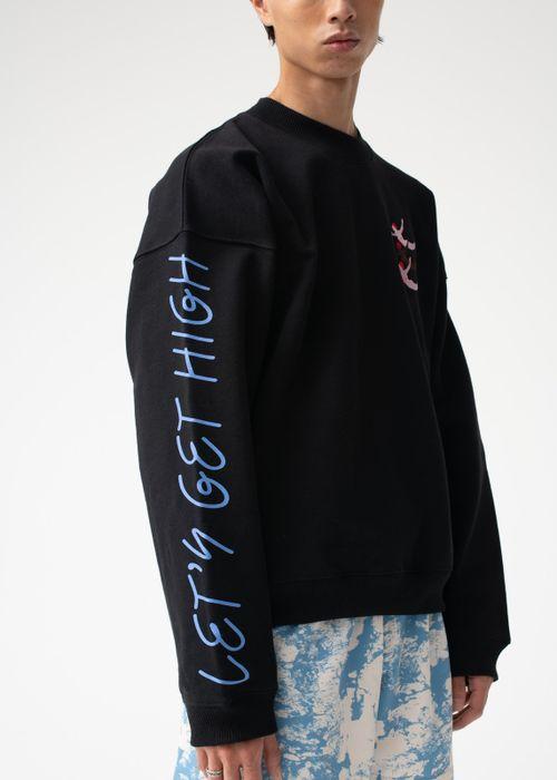 LET'S GET HIGH — BLACK