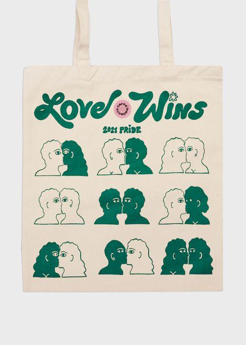 LOVE WINS — BEIGE