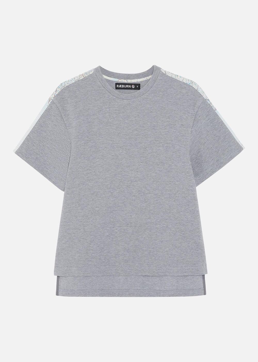 1950's Silk Map Sweat T-shirt