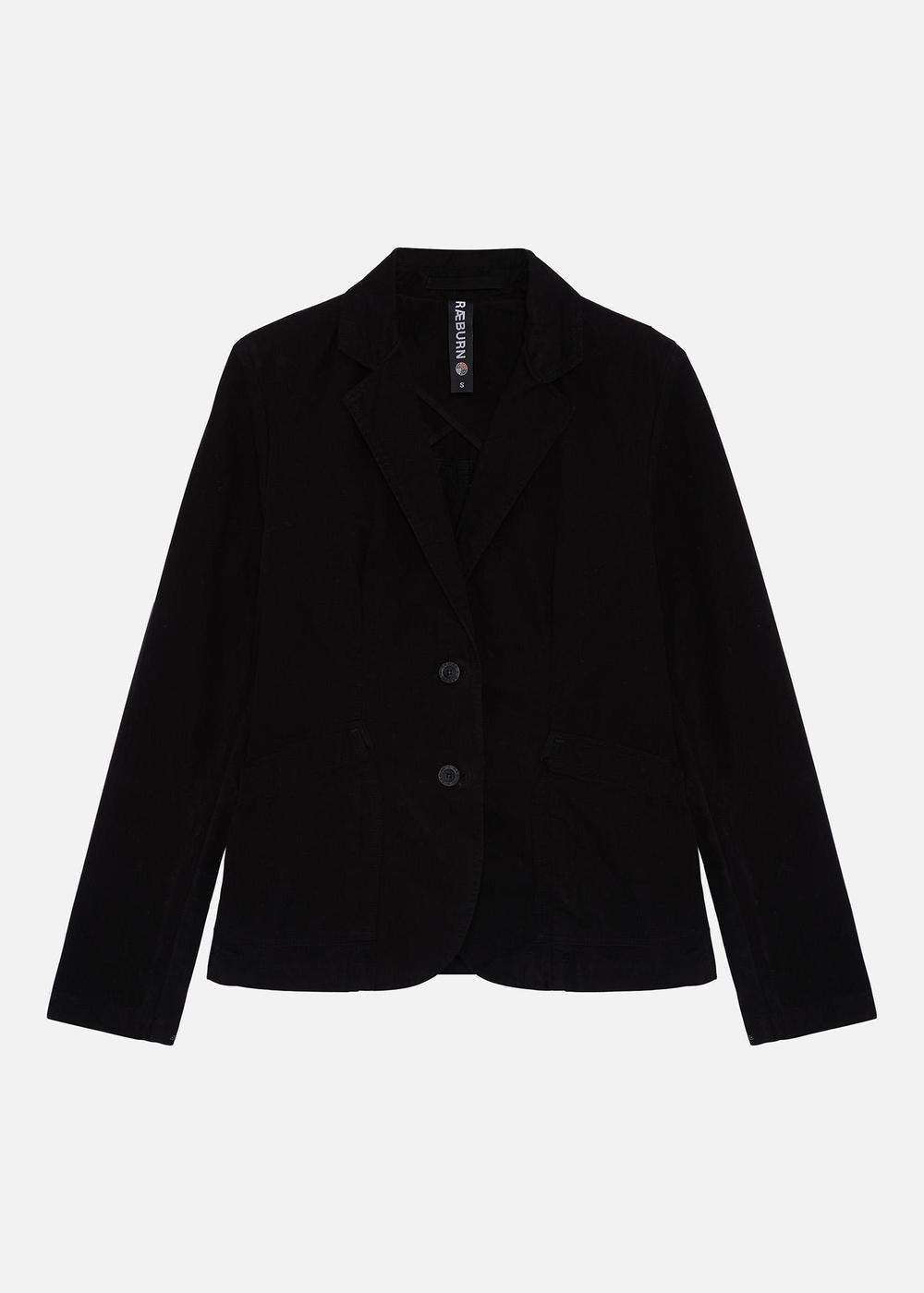Laundered Jacket (W) Black
