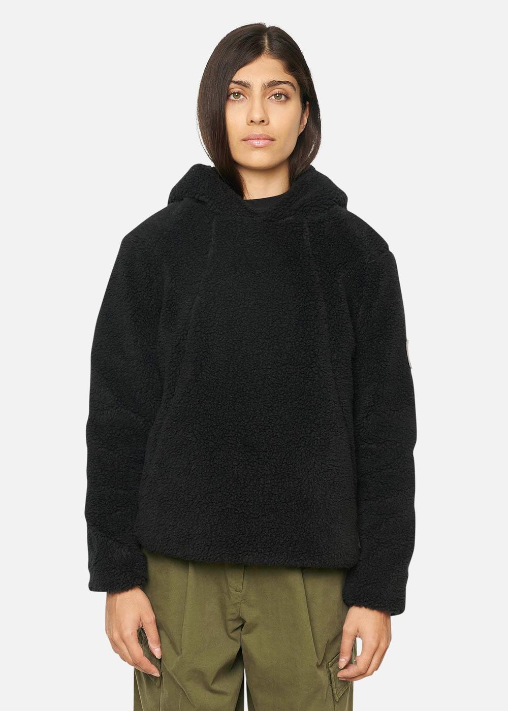 Raeburn Fleece Hoodie (W) Black