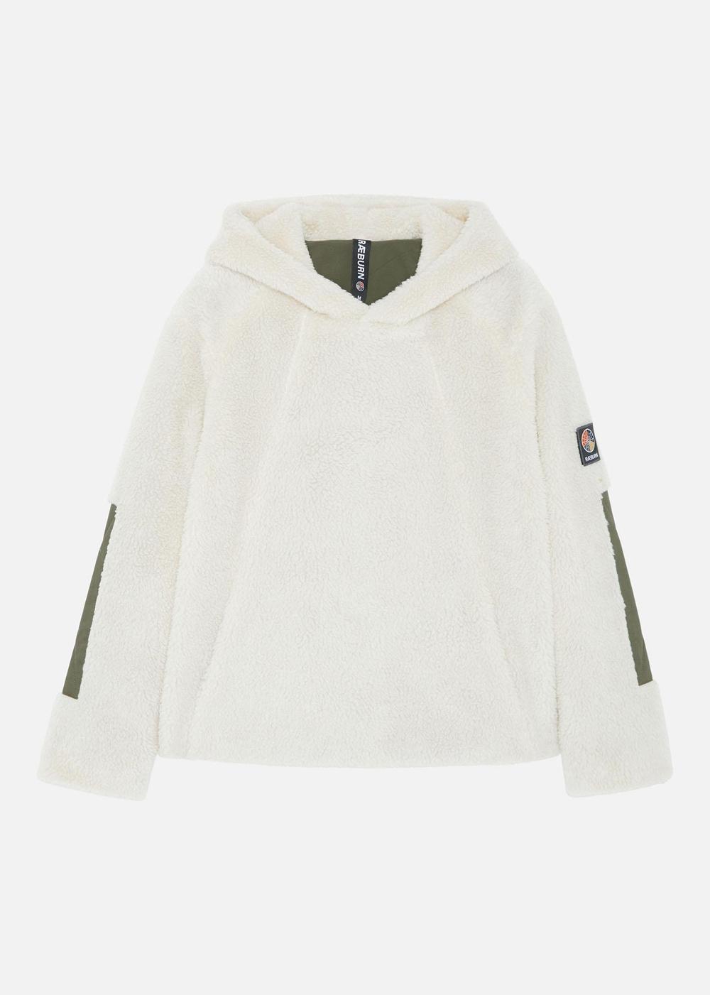 Fleece Hoodie (W) Off White