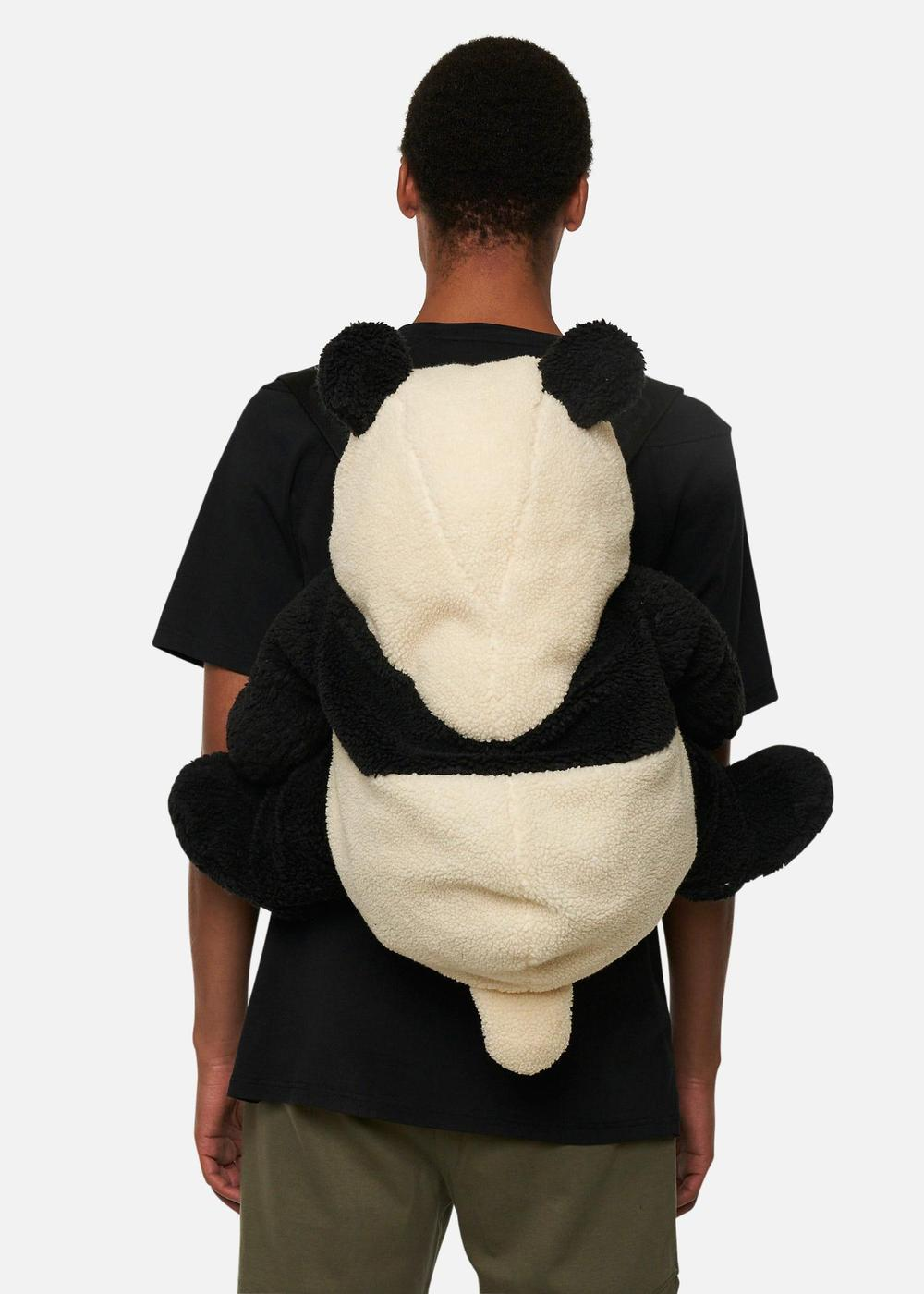Raeburn Fleece Panda Rucksack