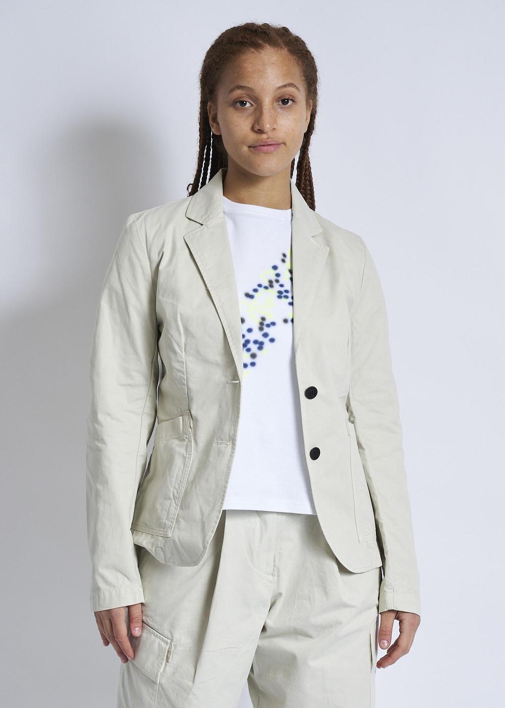 Raeburn Laundered Jacket (W) Off White