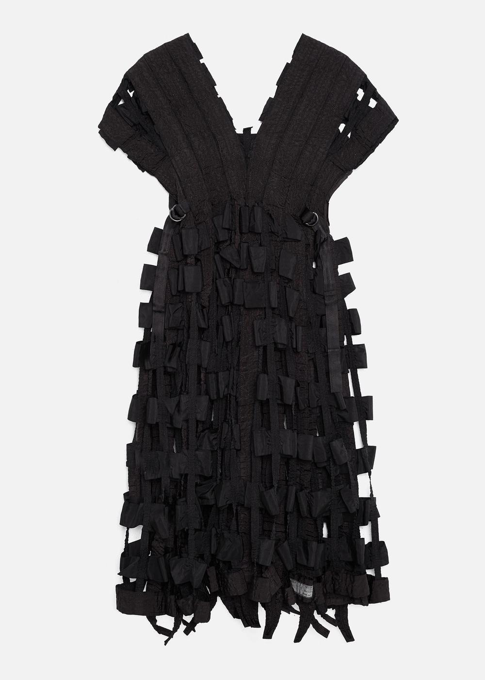 AIR BRAKE DRESS BLACK