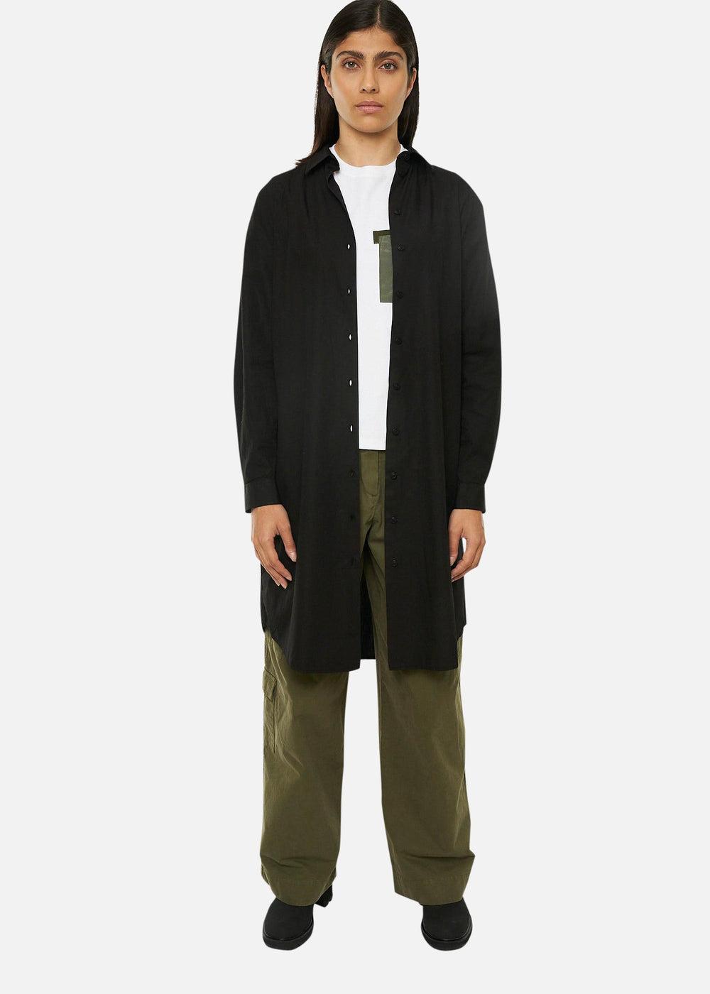 Raeburn SHIRT DRESS BLACK
