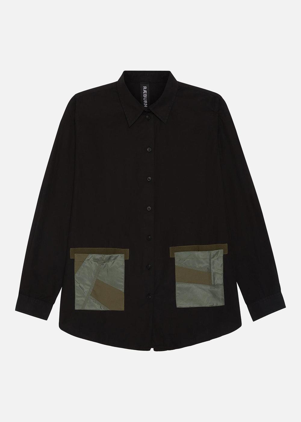 Raeburn ANTI-G PKT Shirt (W) Black
