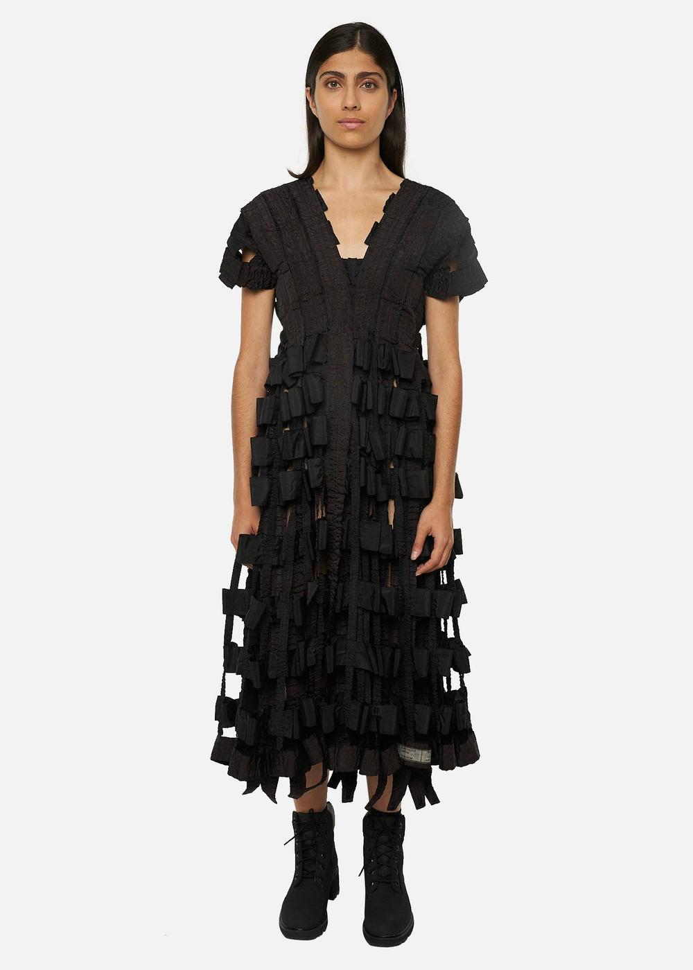 Raeburn AIR BRAKE DRESS BLACK