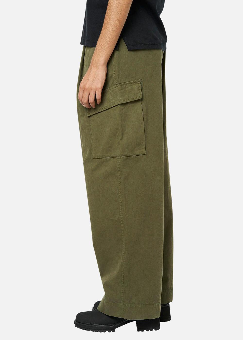 Raeburn Laundered Trouser (W) Olive