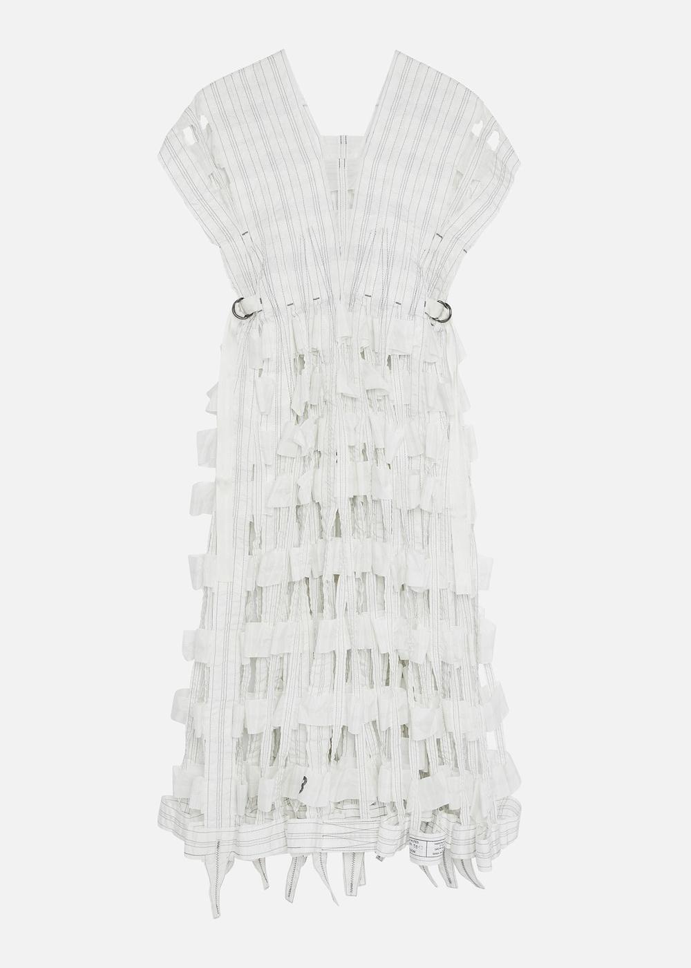 AIR BRAKE DRESS WHITE
