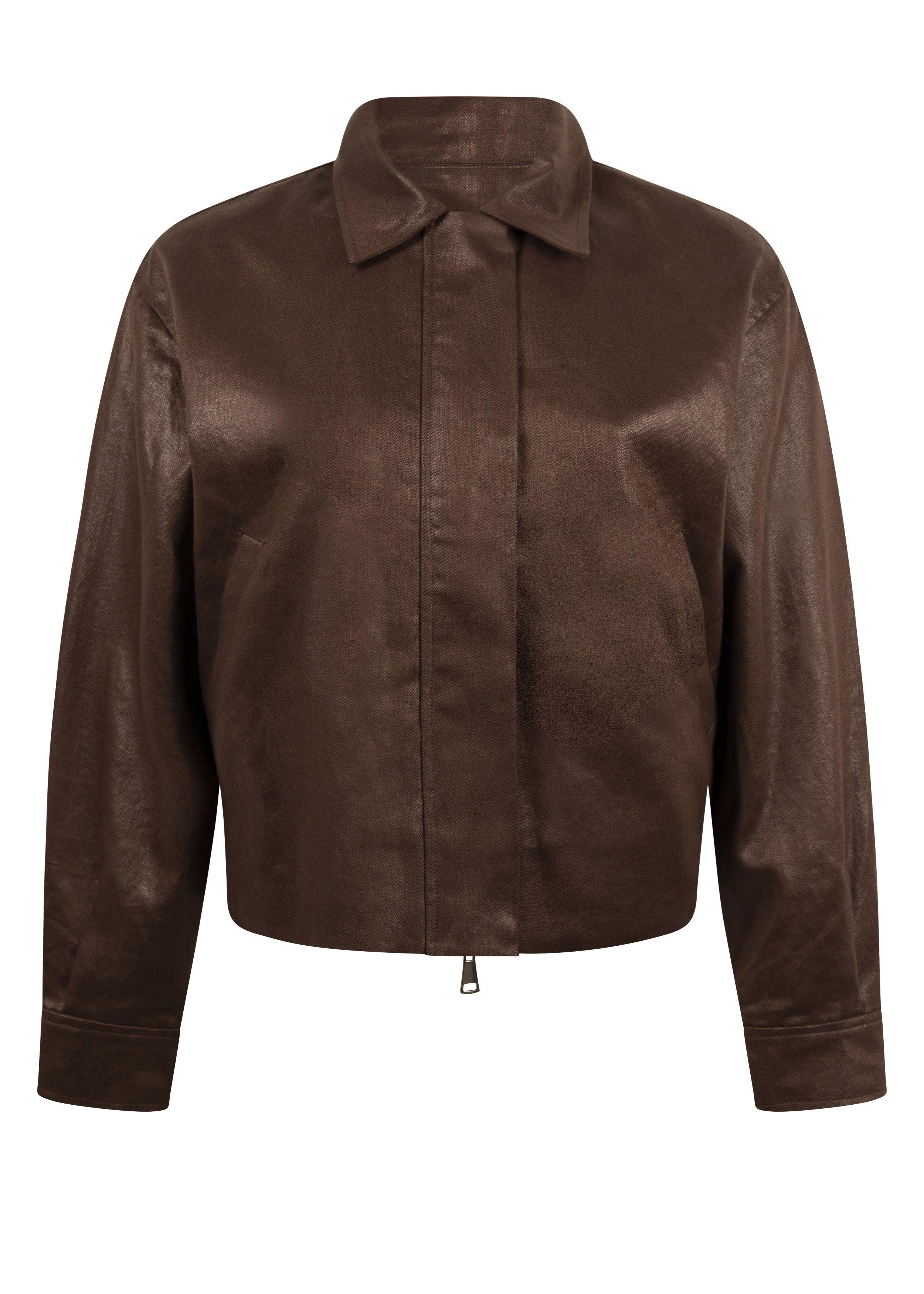 Alton Jacket, Chocolate