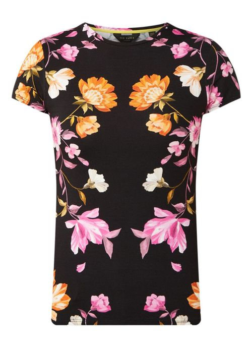 Ted Baker Arbyela T-shirt with floral print