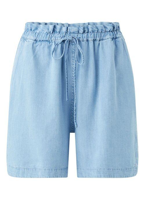 Kallaa high waist chambray shorts
