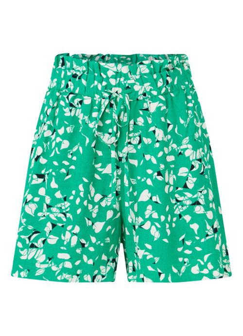 Rebekka high waist shorts with print