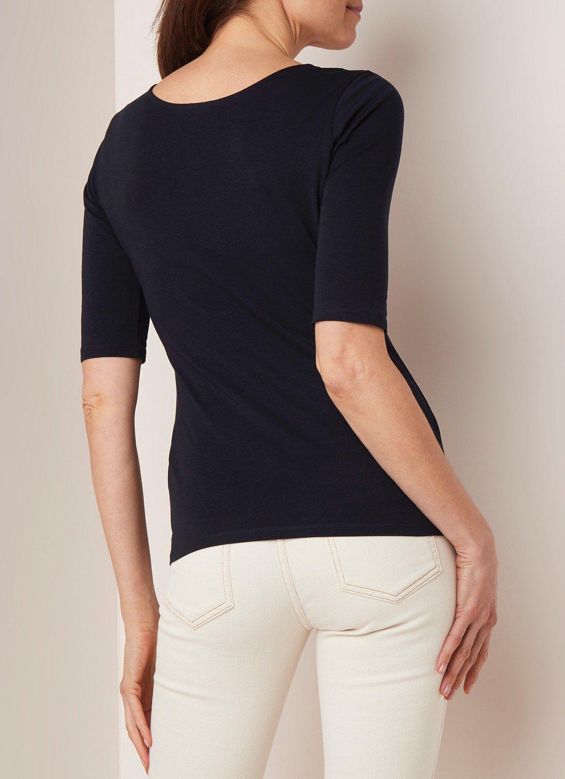 Filippa K T-shirt with half-length sleeves