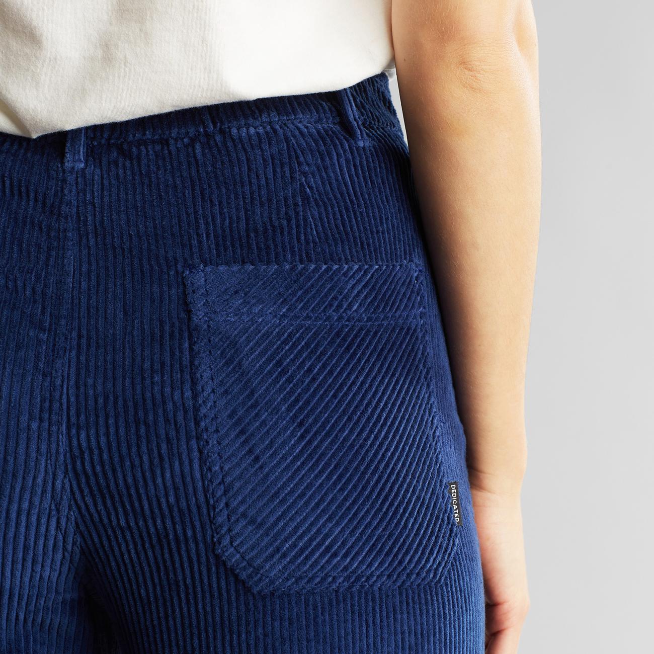 Workwear Pants Vara Corduroy Deep Blue