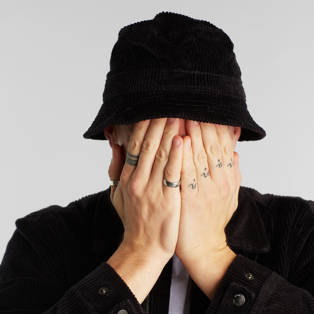 Bucket Hat Corduroy Black