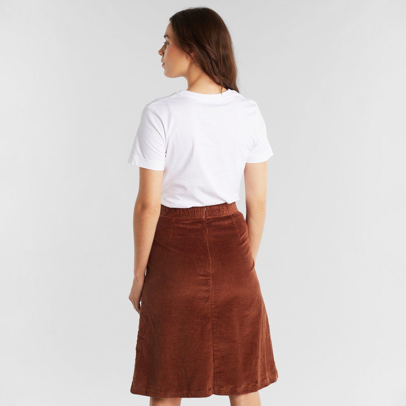 Skirt Haga Corduroy Brown