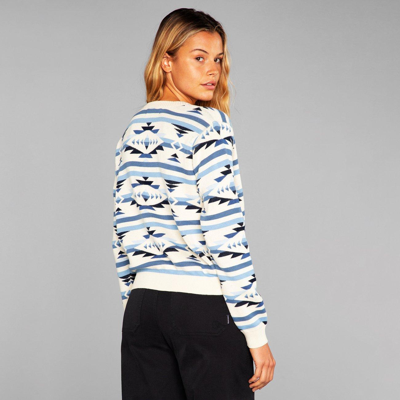 Sweater Arendal Ikat Navy