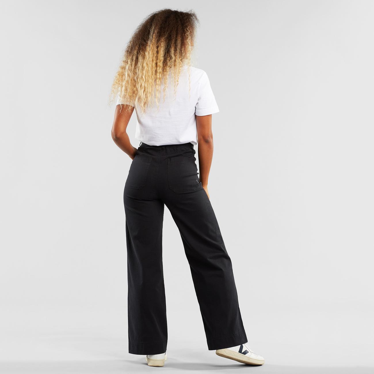 Pants Vara Workwear Black