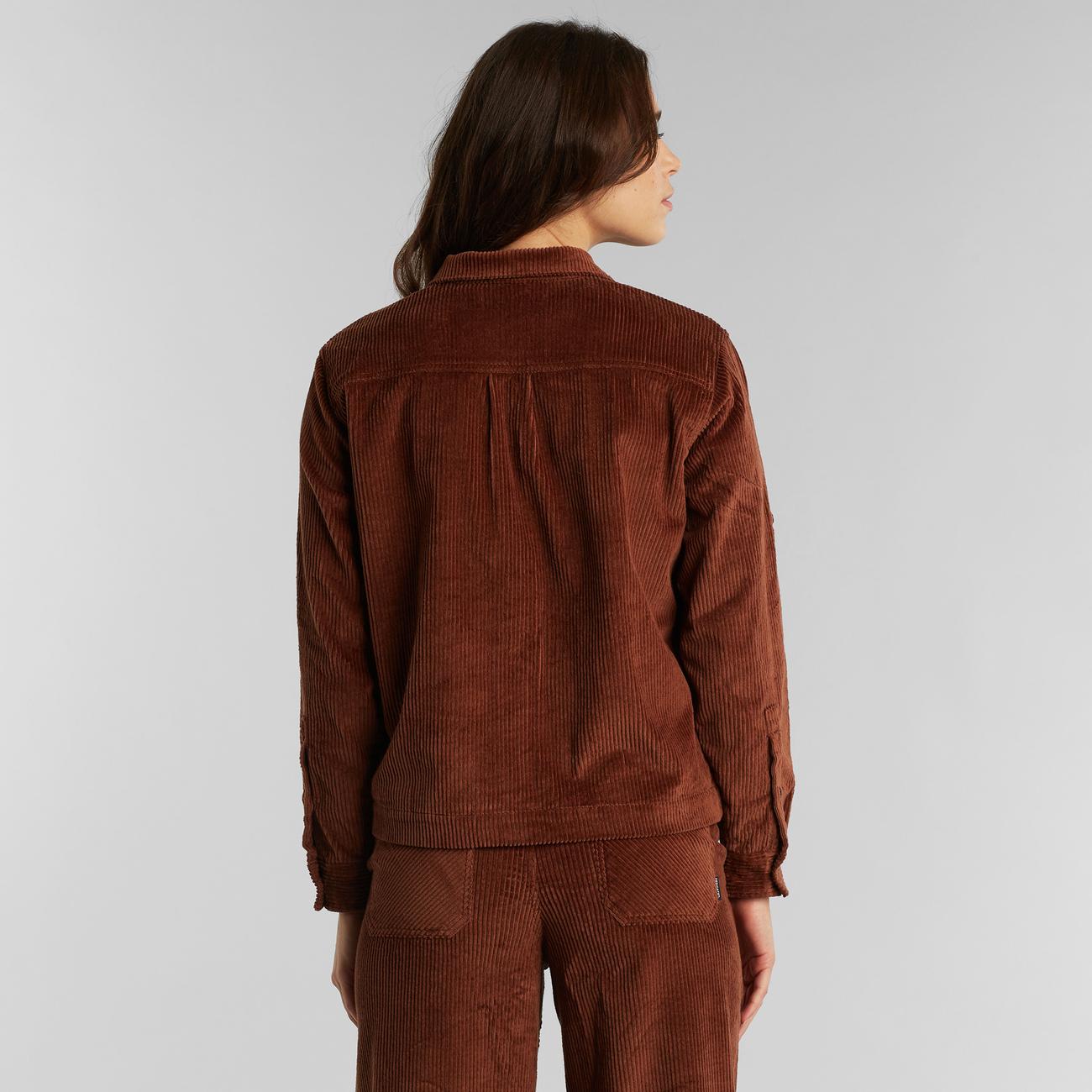 Shirt Lima Corduroy Brown