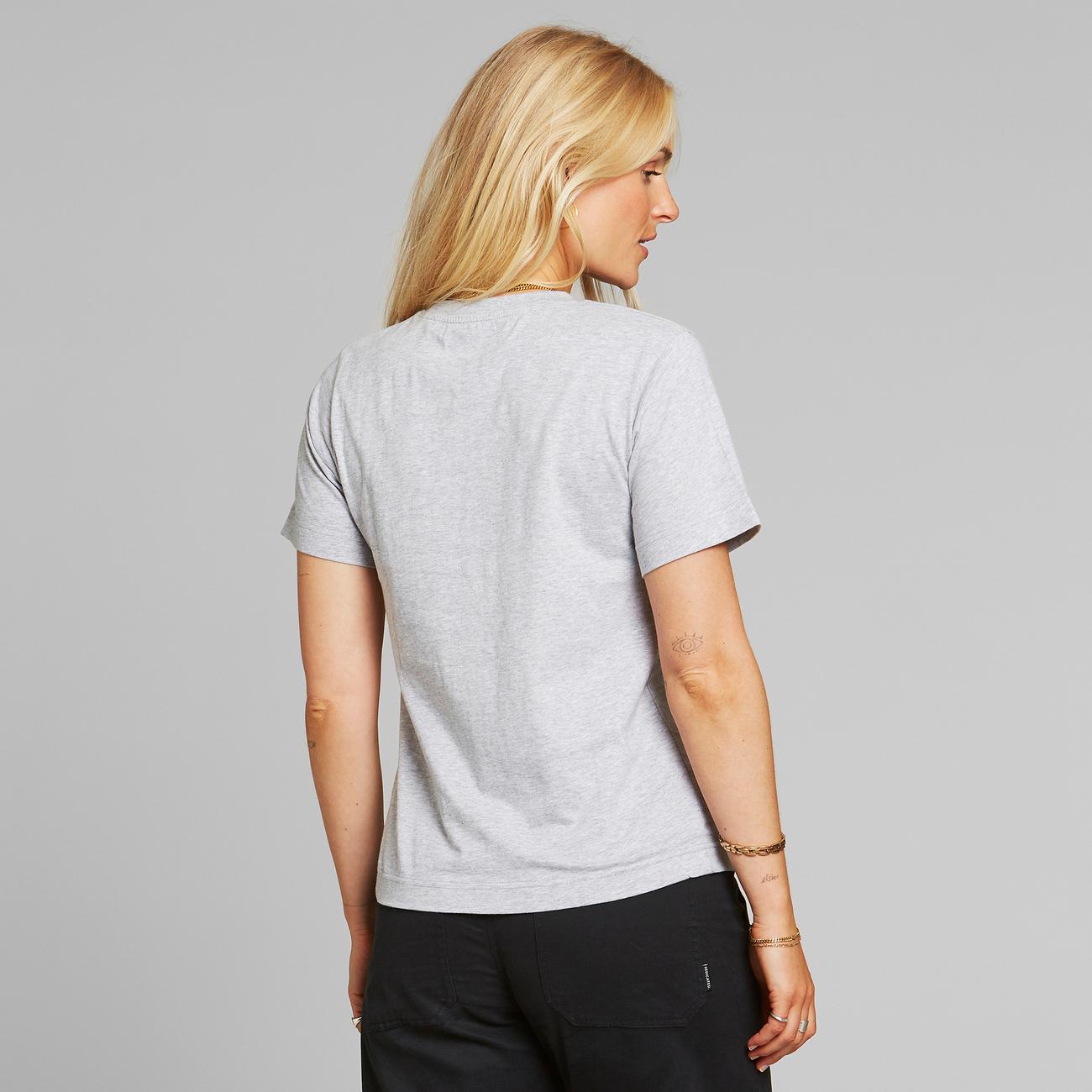 T-shirt Mysen Woodstock Grey Melange