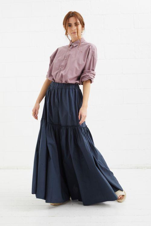 Palm spring maxi skirt