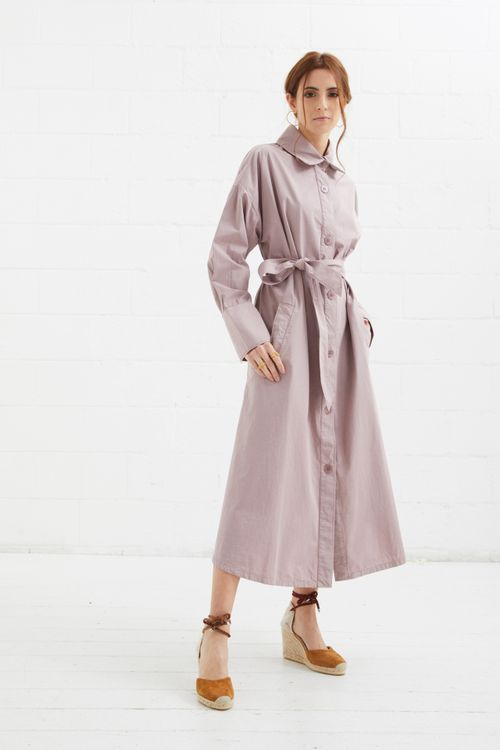 Maria trench dress