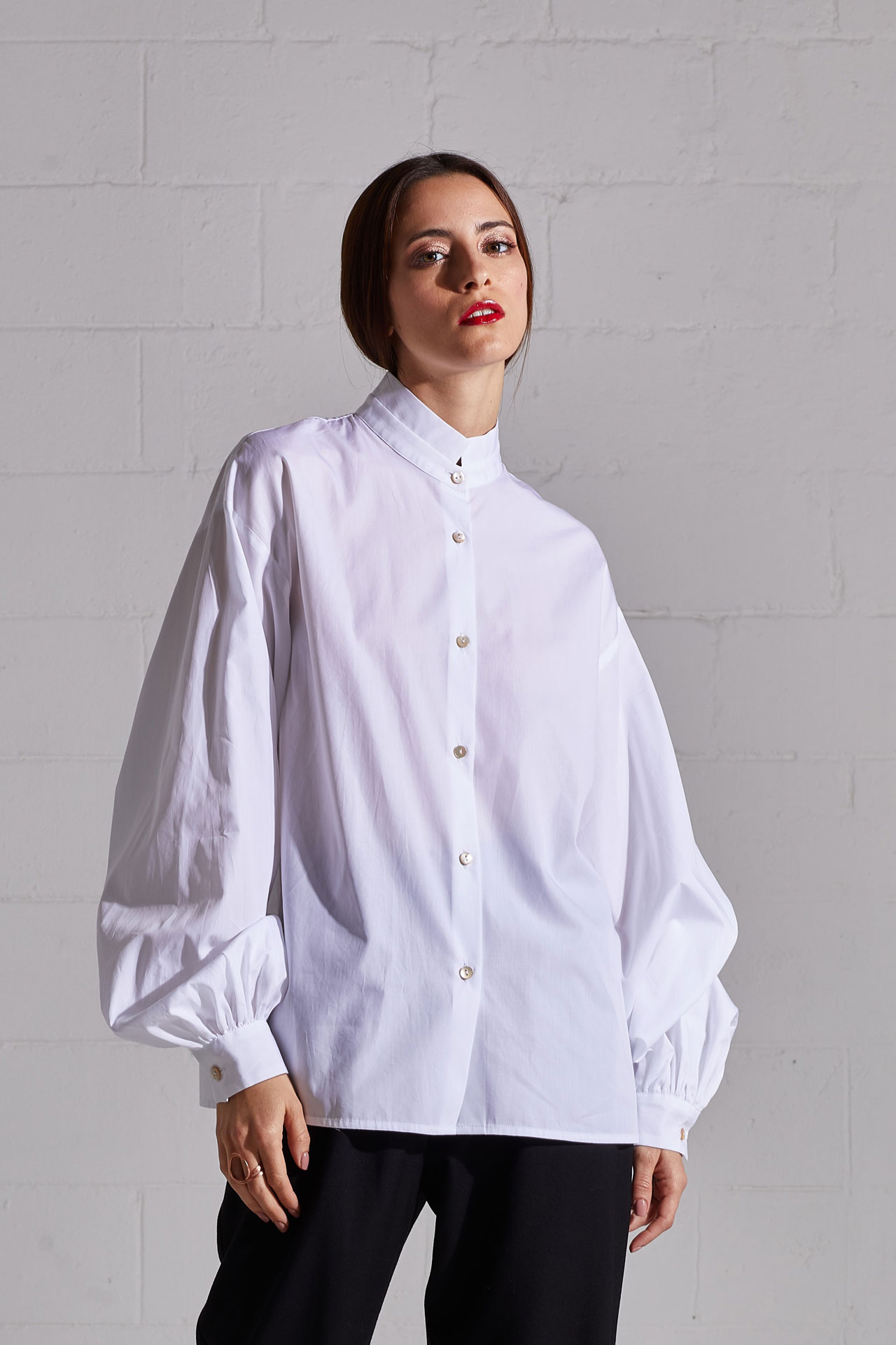 Organic Victorian blouse