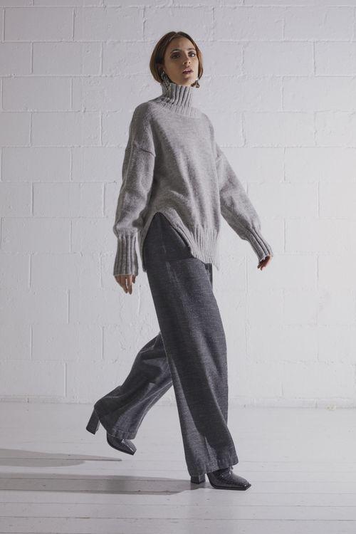Easy wool pants