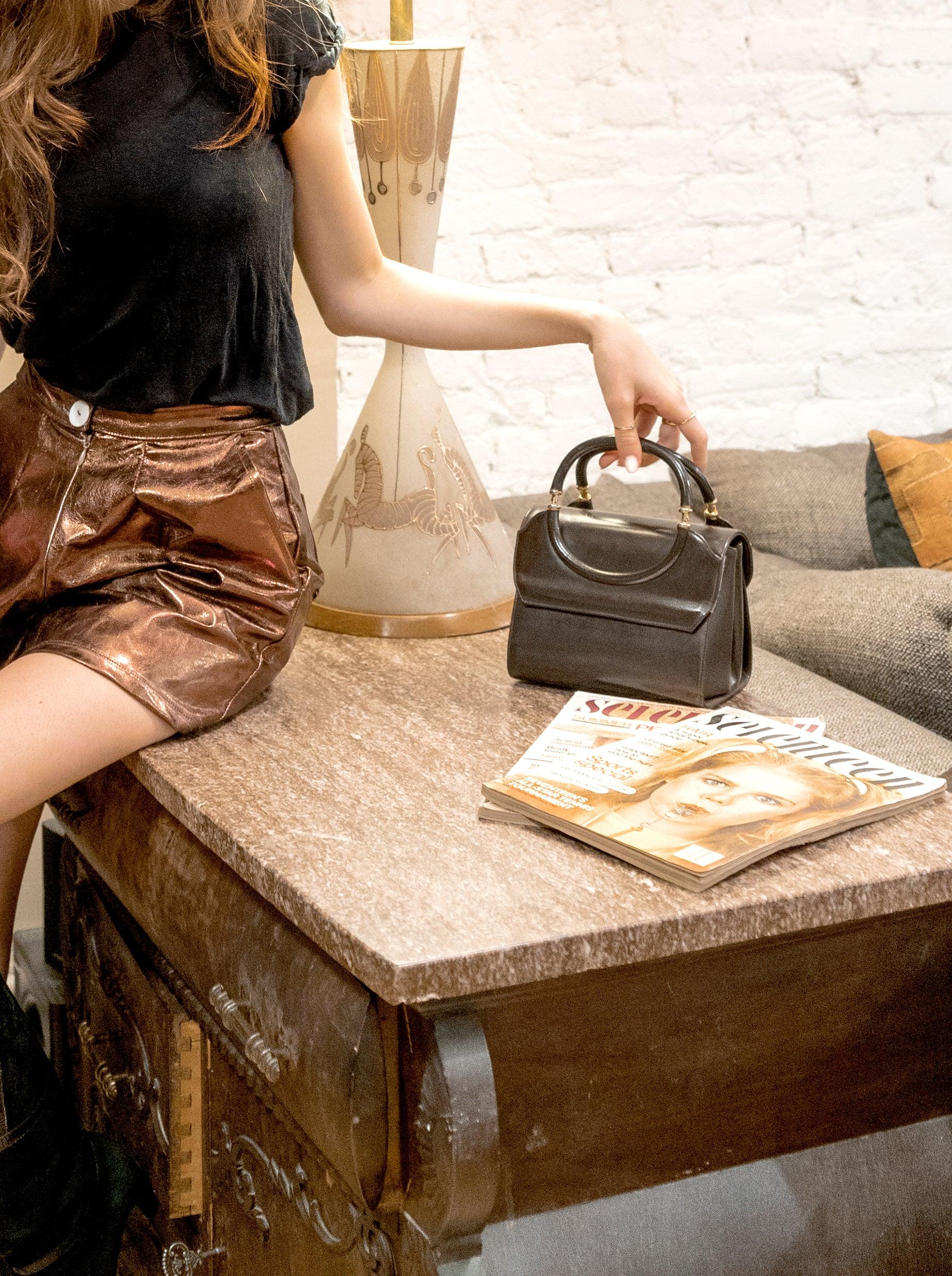 new amsterdam bag - smooth brown