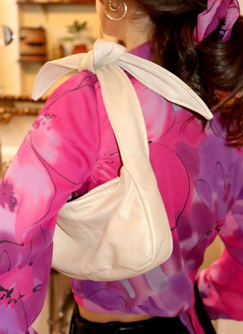 west village bag - pearlescent soft leather