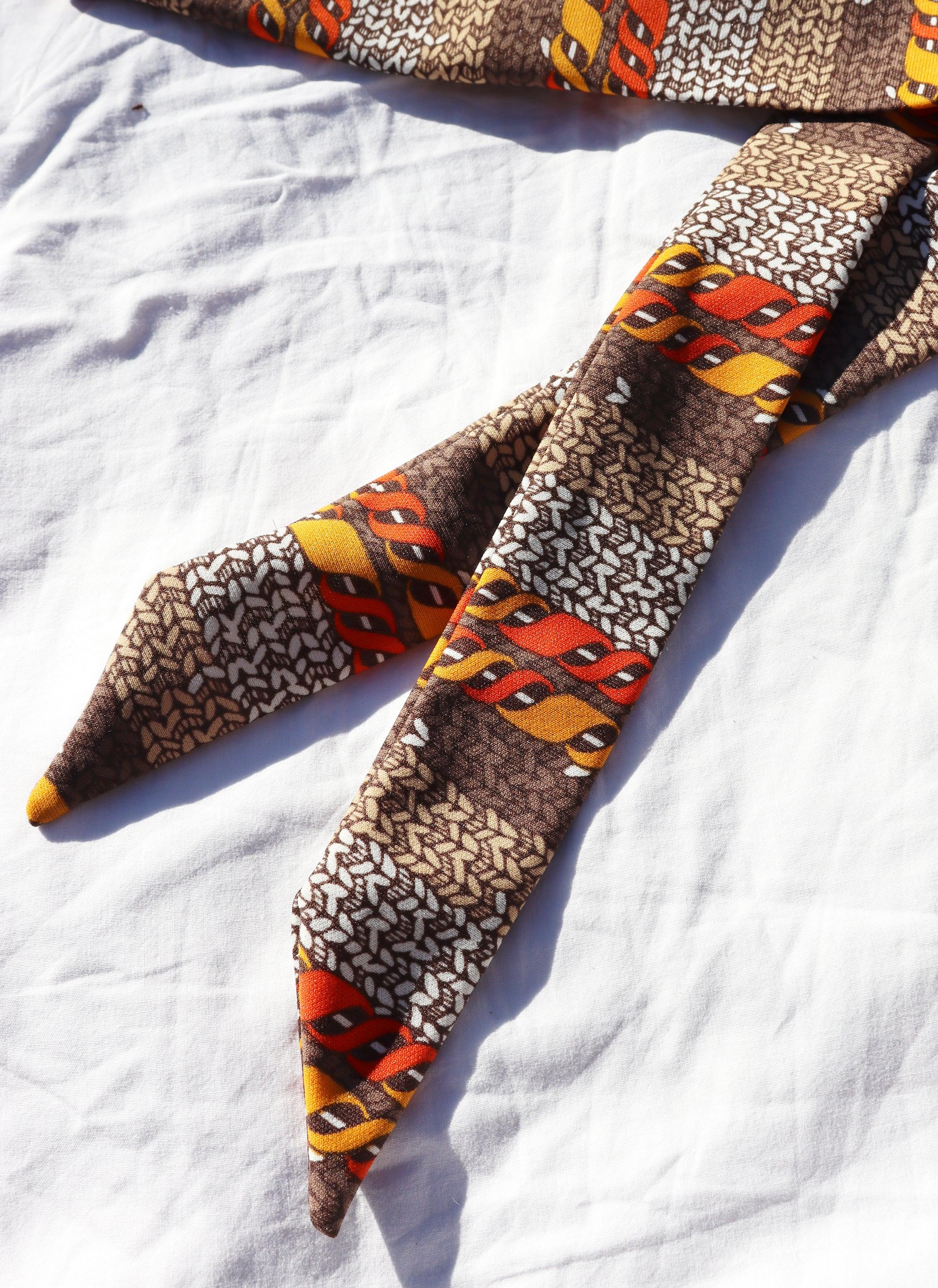 tie - woven print