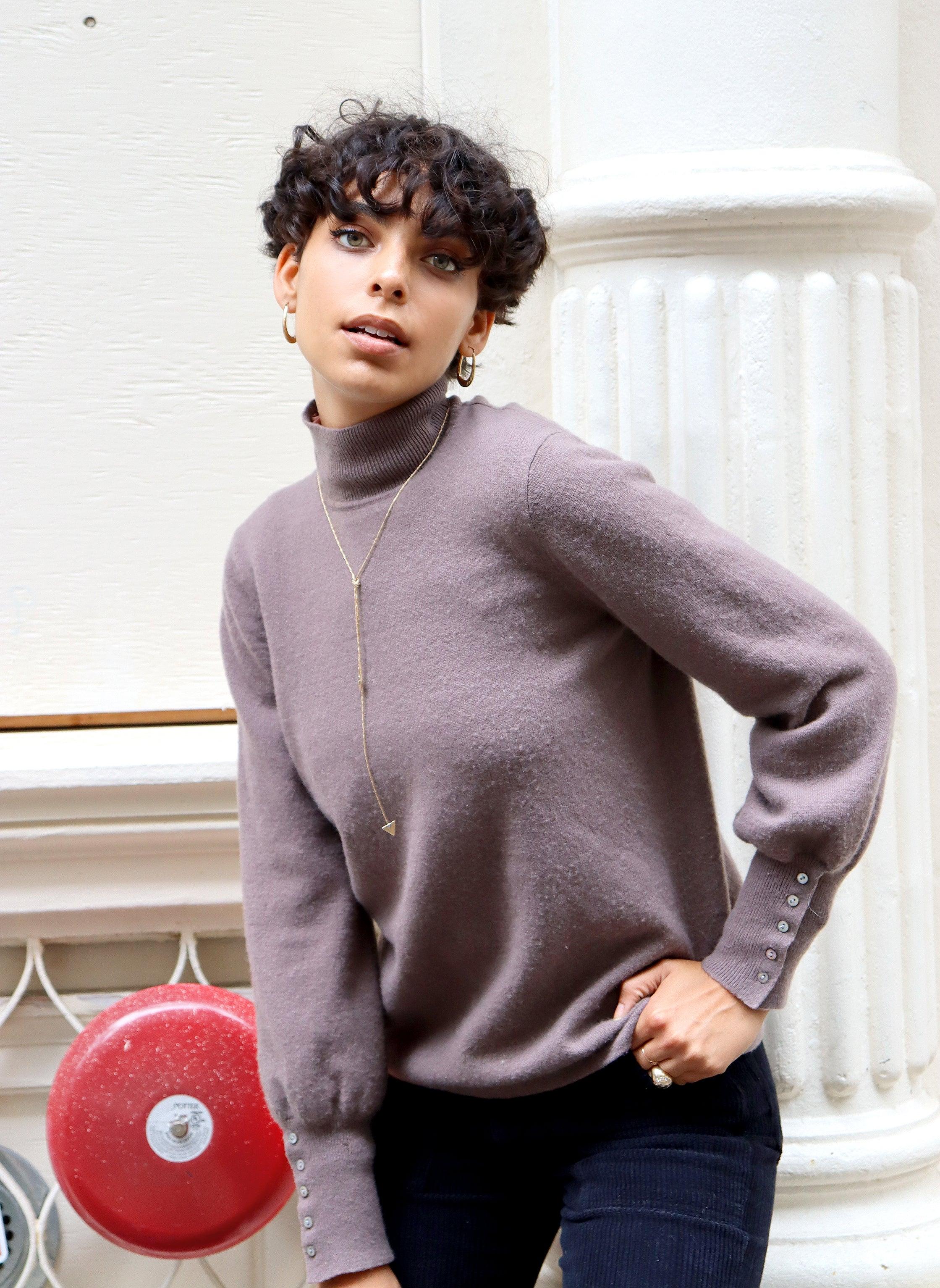 paris sweater - taupe