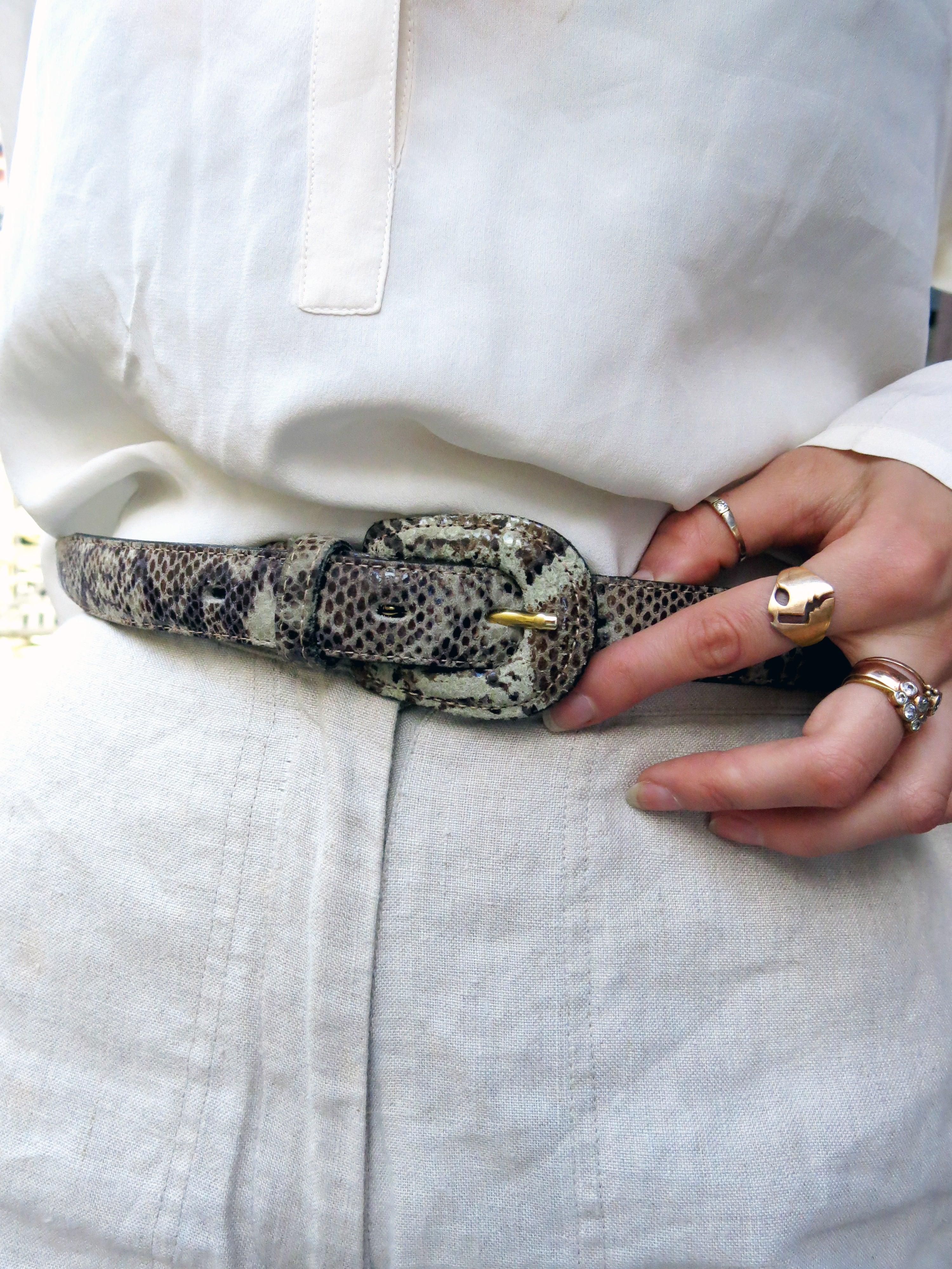 croc belt 36 - s