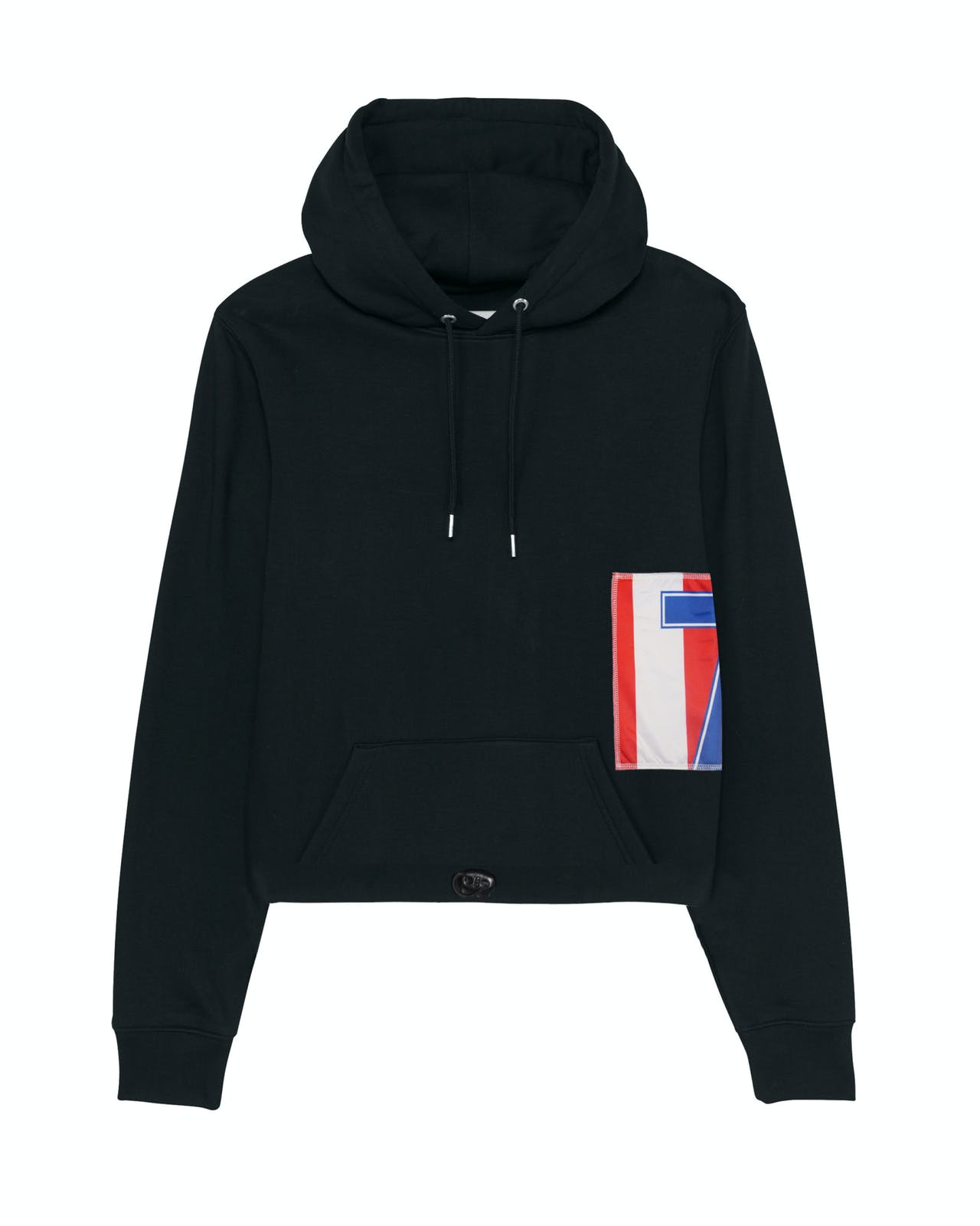 Remix hoodie black