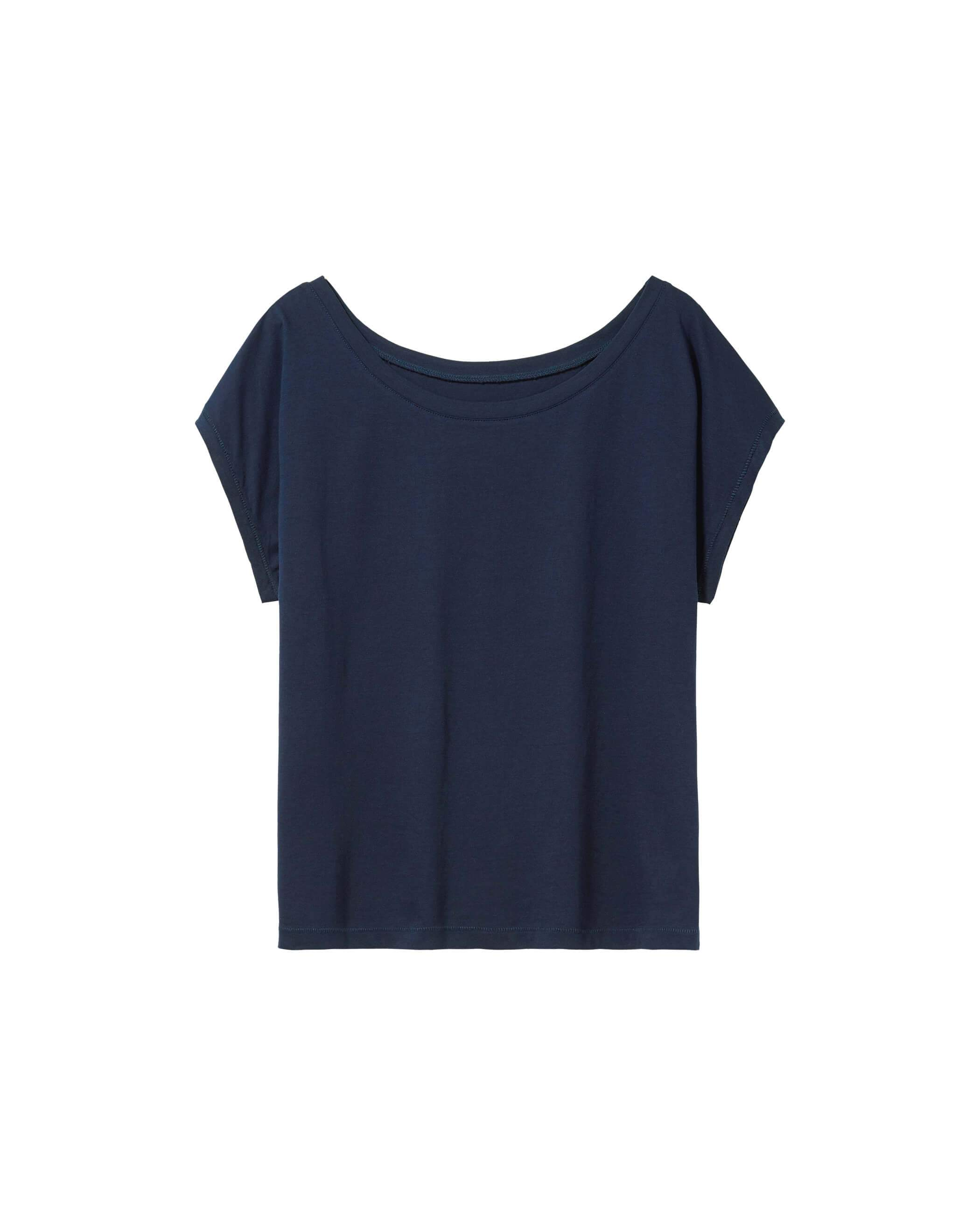 Bella Cropped Top Navy