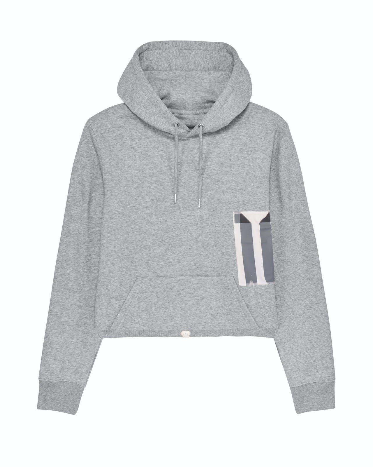Remix hoodie grey