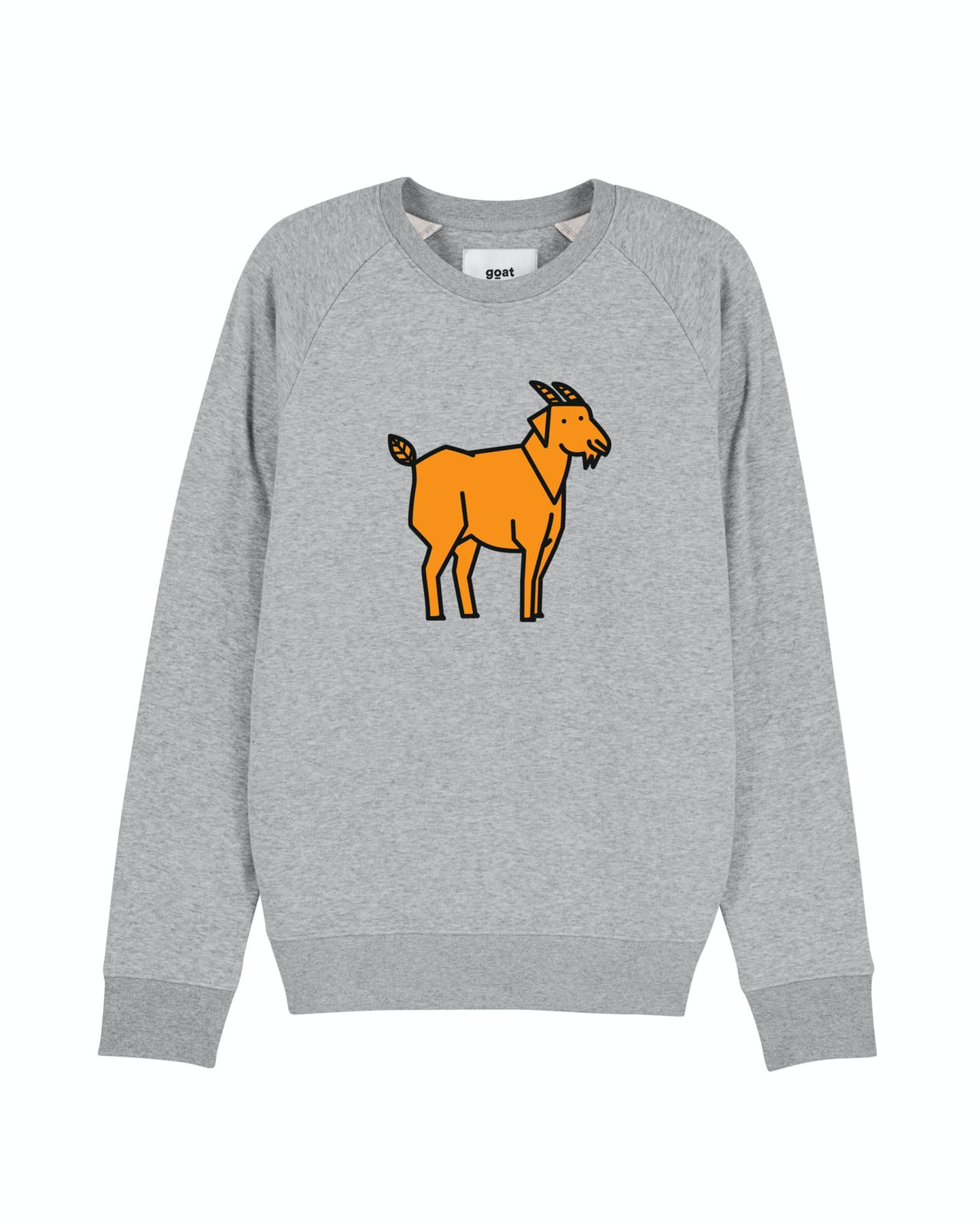 Goat Organic Apparel Max goat grey