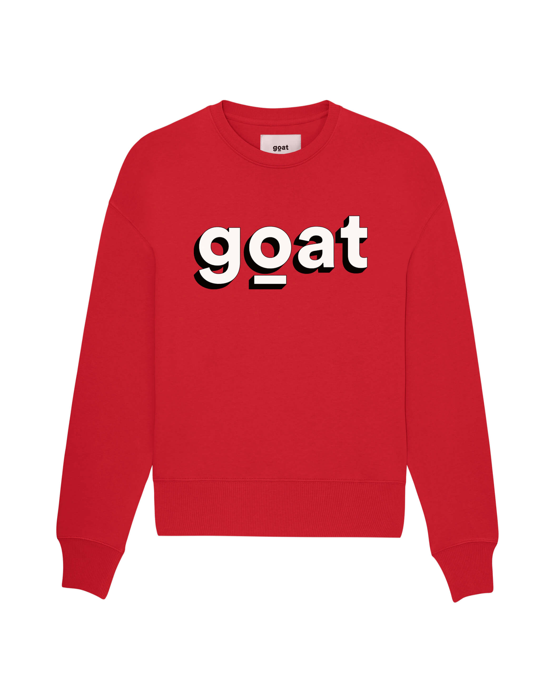Bobby Goat 3D Sweater Red