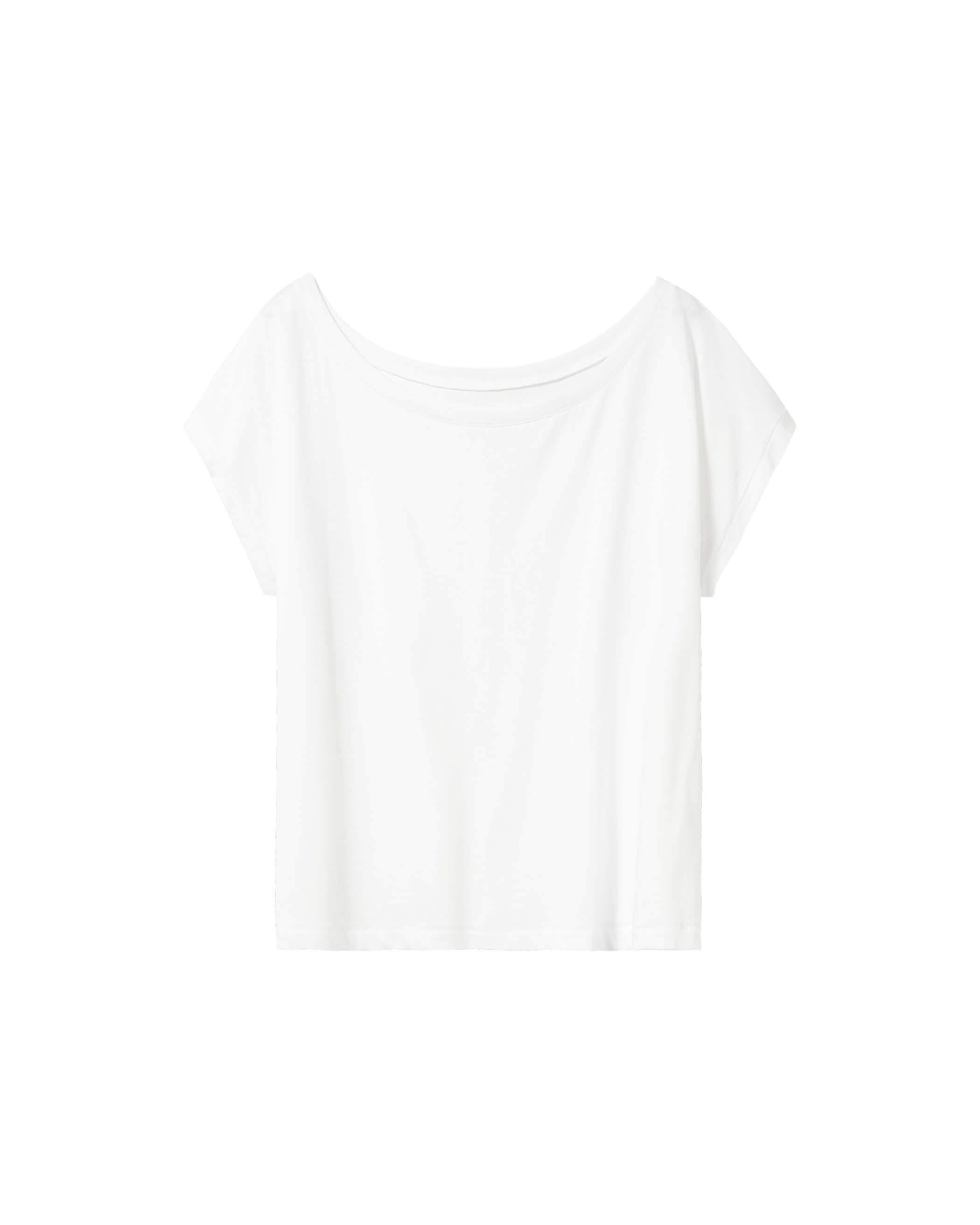 Bella Cropped Top White
