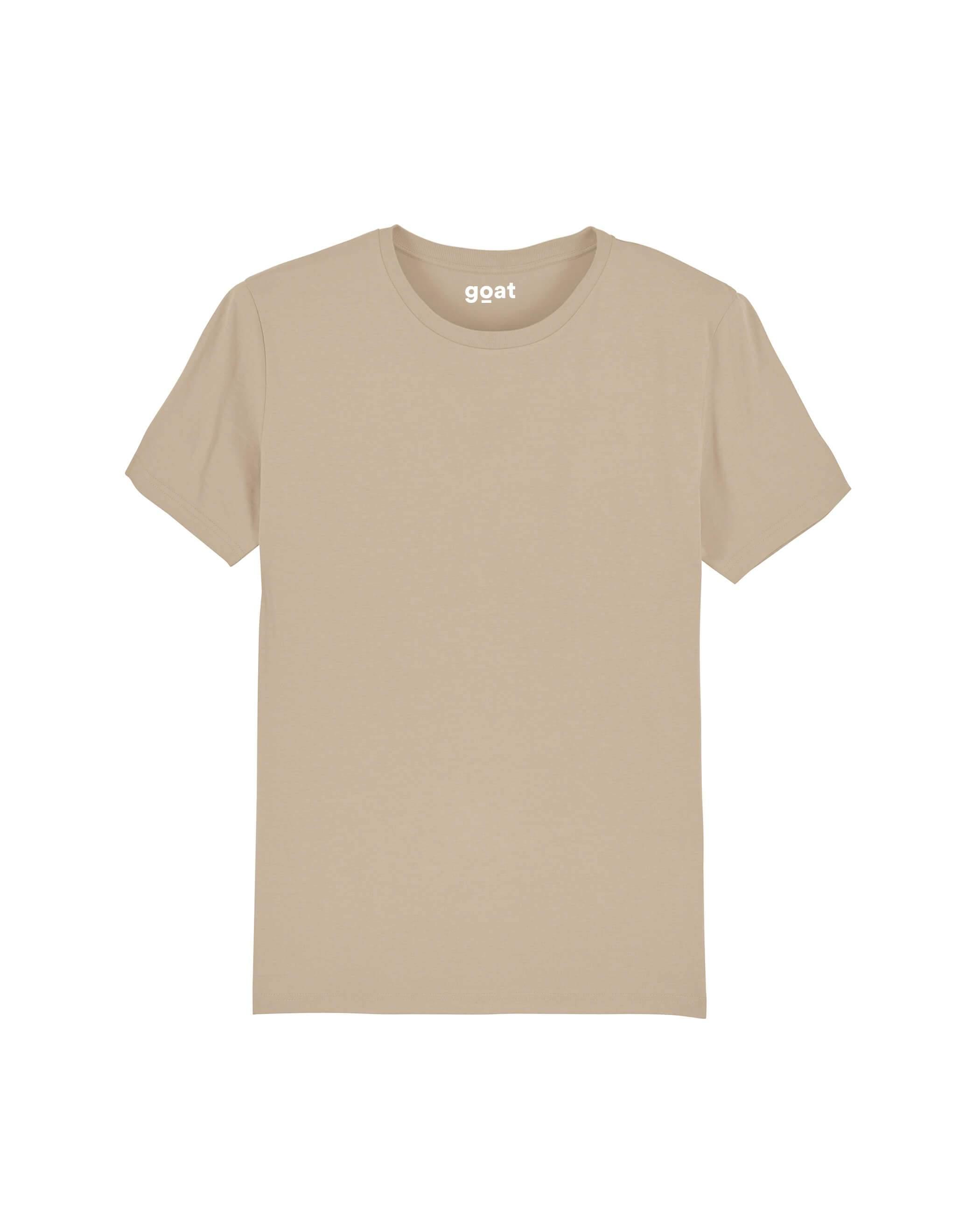 Alex Basic T-shirt Sand